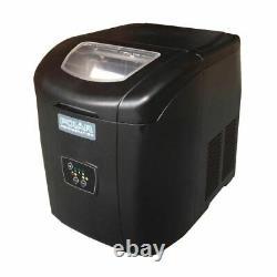 Polar Counter Top Ice Maker 10kg Output 380X305X380mm Black Manual Fill Machine