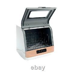 Portable Countertop Dishwasher Table Top Dish Washer Washing Machine 4 Programs