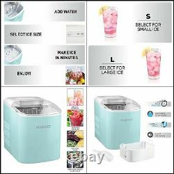 Portable Electric Countertop Ice Maker Machine 26 Pounds in 24 Hours