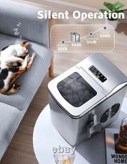 Portable Ice Maker 26Lbs/24H Self-Cleaning Ice Maker Machine for Countertop Best