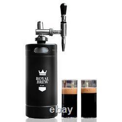Royal Brew Nitro Cold Brew Coffee Maker Machine Keg Growler Home Kegerator