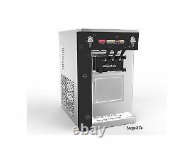 SOFT ICE CREAM MACHINES -Table-top Space saving 2 Plus 1 Mix
