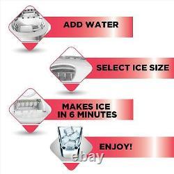 Small Ice Maker Nugget Pellet Countertop Bevarage Machine Frigidaire Portable