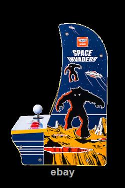 Space Invaders Arcade1up Countercade Retro Gaming Machine Arcade 1UP Counter Top