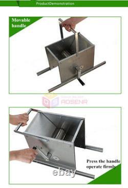 Stainless Steel Grape Crusher Brewing Equipment MANUAL Grape Crushing Machine