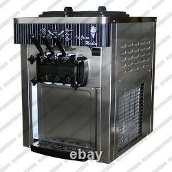 Table Top 22L/H Soft Serve Ice Cream & Frozen Yogurt Maker Commercial Machine