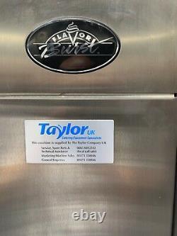 Taylor c706 ice cream machine &flavour burst