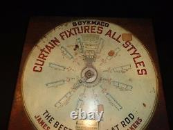 Vintage Boyemaco General Store Counter Top Curtain Fixtures Selection Machine
