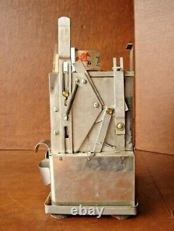 Working Vintage 5-Cent Counter top Spin-It Almond Vending Machine